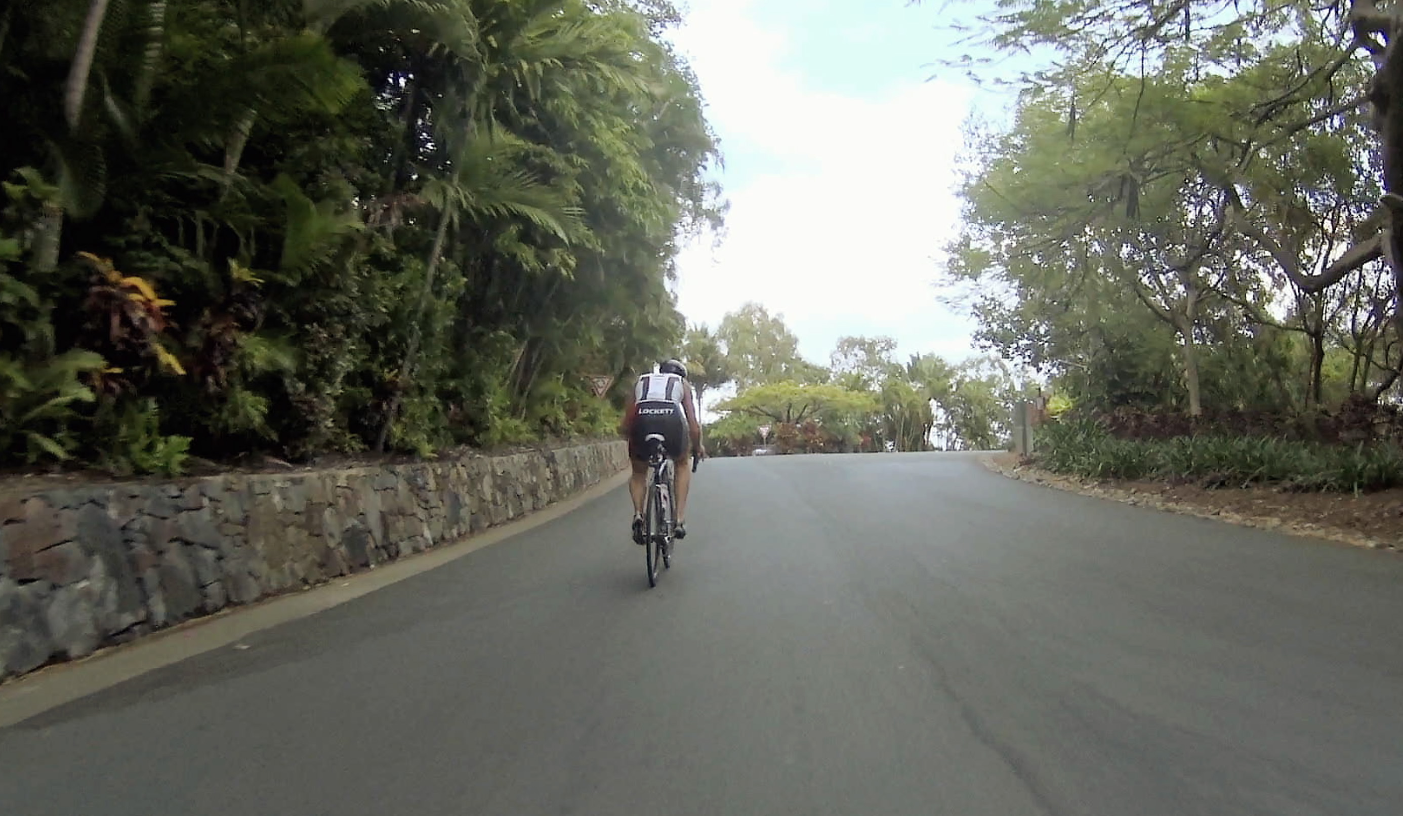 The climbs are short, but they're some of the steepest you'll ever find in a Tri