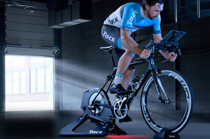 FulGaz works brilliantly with the Tacx Neo and Flux trainers