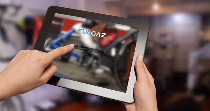 FulGaz is easy to use on an iPad or an iPhone
